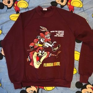 Vintage Florida State Looney Tunes Crewneck